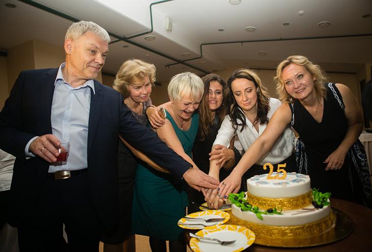 25 лет на сцене поздравление