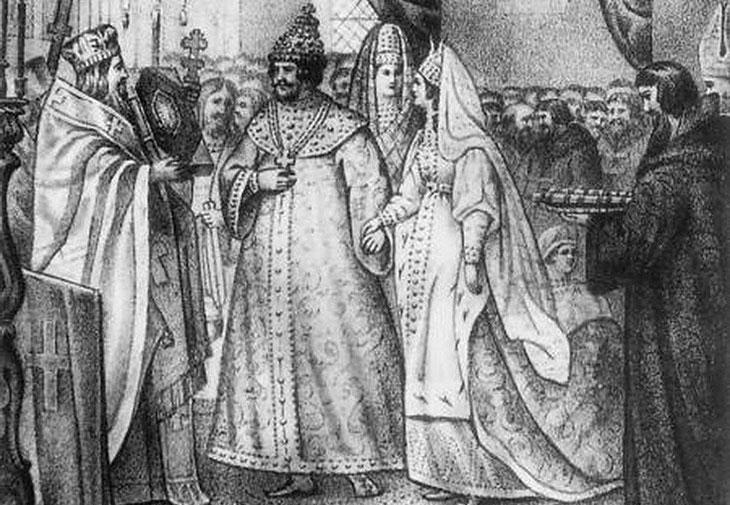 Русское царство, царь и народ