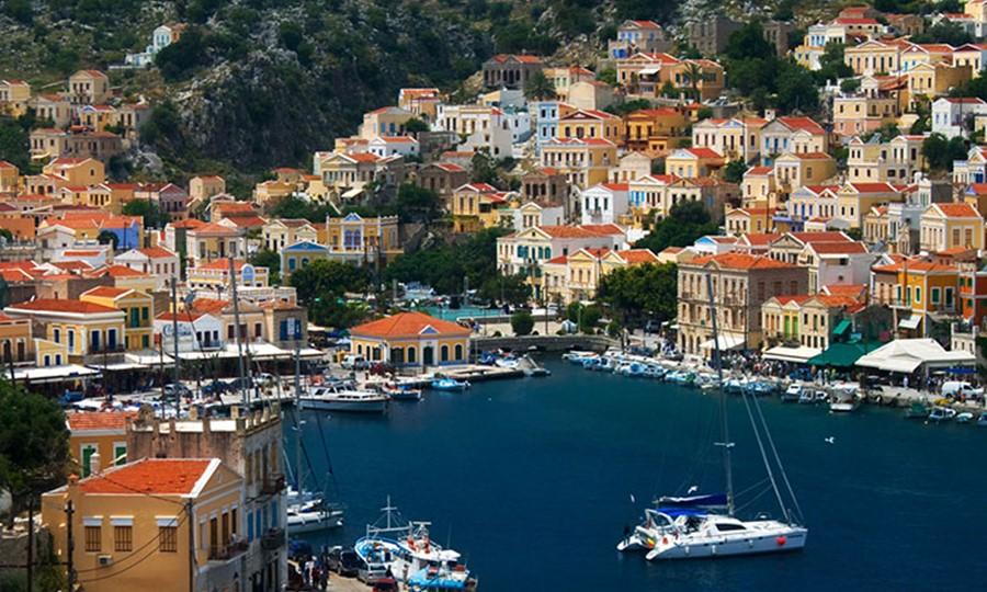 Остров Сими. Греция