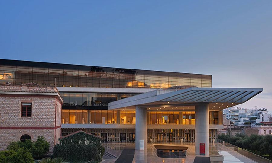 Новый Музей Акрополя. Афины