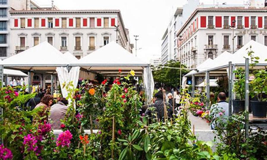 Цветочное шоу в Афинах