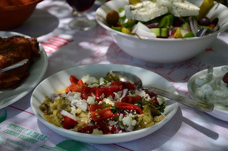 салат по гречески рецепт фото самые вкусные