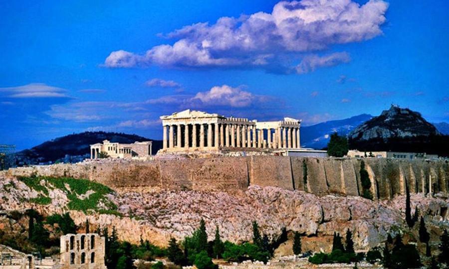 Акрополь. Парфенон. Афины