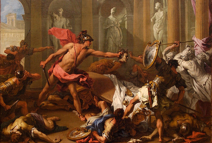 conflicts in the myth of perseus The story of perseus english resolution conflict the conflict in this myth is that king acrisuis will get killed by his grandson.